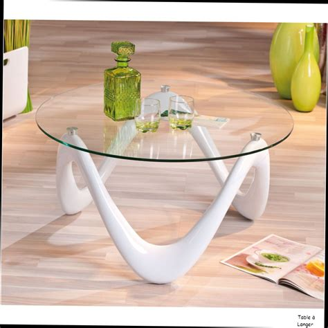 awesome table a manger ronde en verre 0 table basse