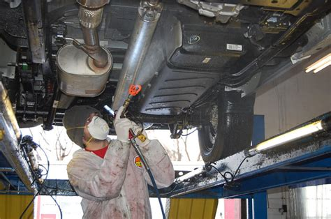 Car Undercoating Soundproofing
