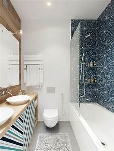 comment creer une salle de bain contemporaine 72 photos With comment decorer la salle de bain