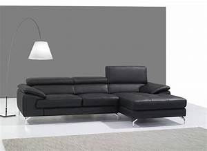 Remarkable black or red italian leather sectional sofa for Dark red leather sectional sofa