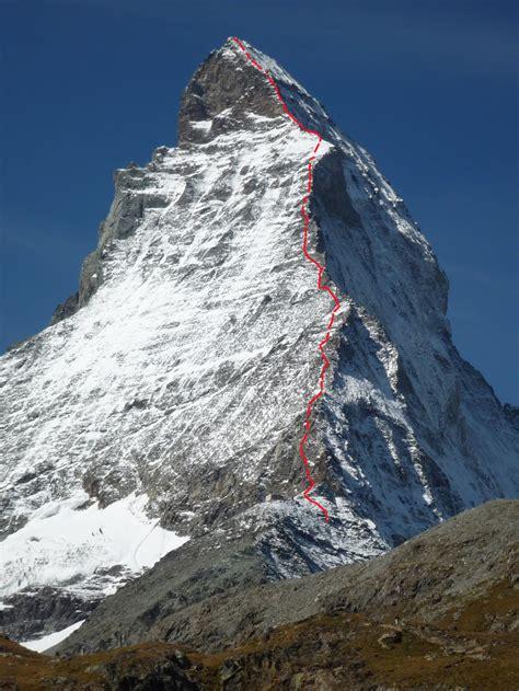 matterhorn hoernligrat bergsteigencom