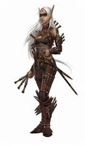Pathfinder Elf Character Art