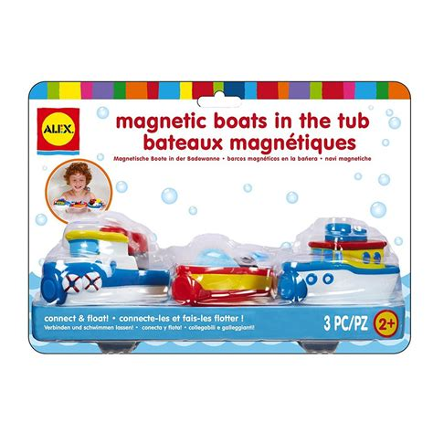Alex Magnetic Boats In The Tub by Alex Magnetic Boats In The Tub