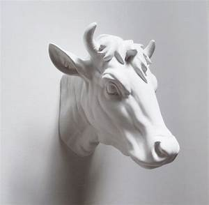 best 25 cow head ideas on pinterest cow skull art cow With kitchen colors with white cabinets with animal head wall art