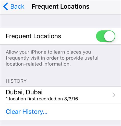 iphone frequent locations here is how to turn secret tracking feature in your