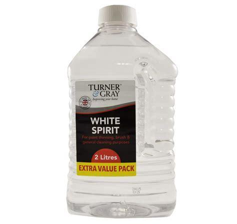 Turner & Gray White Spirit 2L   Decorating Preparation