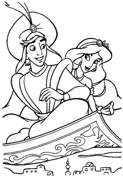 aladdin   king  thieves coloring pages coloring pages
