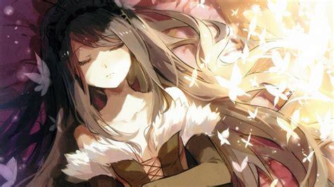 Masaüstü Anime Girls Uyuyor 1920x1080 Piksel Mangaka