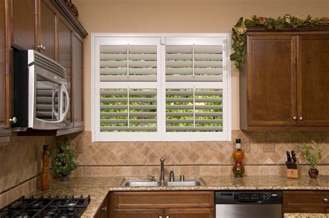 kitchen designs with window sink design ideas for shutters in kitchens 9358