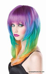Rainbow Wig | Wigs/Crazy Hair Colors | Pinterest