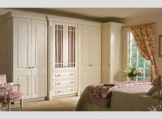Beaded Prague wardrobe doors in Hornschurch Ivory by HOMESTYLE