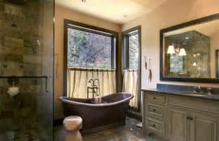 Rustic Master Bathroom Designs