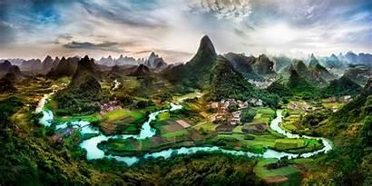 Yangshuo China Guilin Li River Guangxi Karst