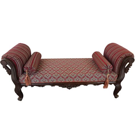 Solid Sheesham Wood Handcrafted Antibes Backless Chaise