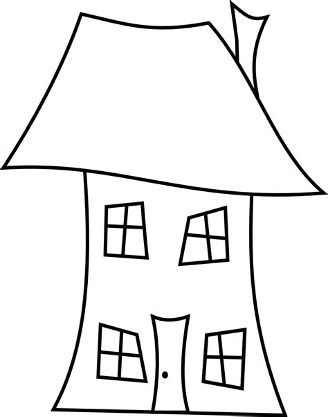 house clipart  drawing pencil   color house
