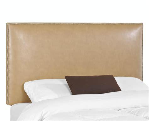 Upholstered Headboard Beautiful Diy Wood Framed Upholstered Headboard With Nailhead Trim U