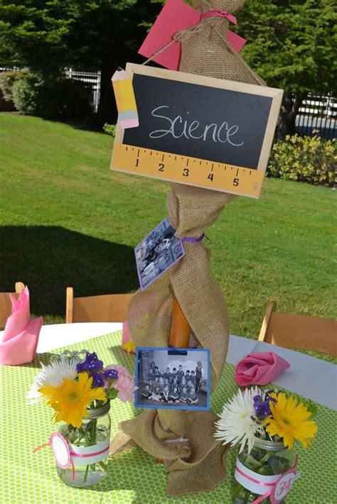 school days retirement party ideas photo    catch