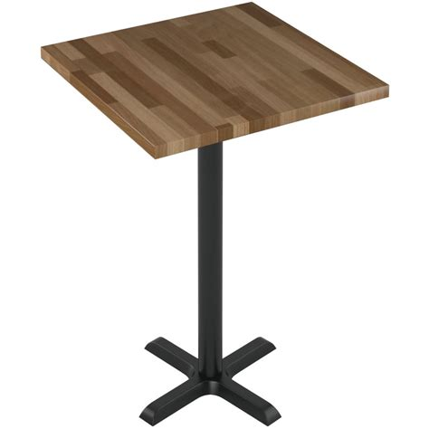 table cuisine bar premium solid wood butcher block restaurant table bar height