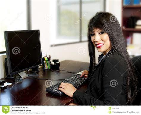 bureau asiatique secrétaire asiatique de bureau