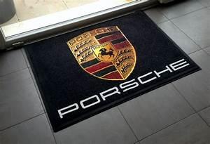 tapis personnalise porsche befloor expert en sols With tapis logo personnalisé