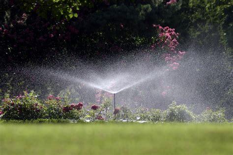 landscape sprinkler system image gallery landscape sprinklers