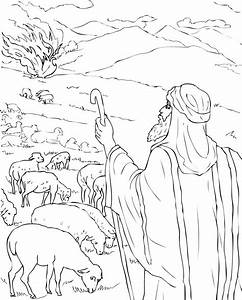 Free Printable Moses Coloring Pages For Kids