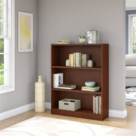 Bookcase Furniture Store by Cherry Brown 3 Shelf Bookcase Universal Rc Willey