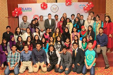 Pakistani Yes Students Attend Welcome Home Event
