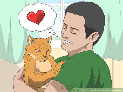 ways   save animals  abuse wikihow
