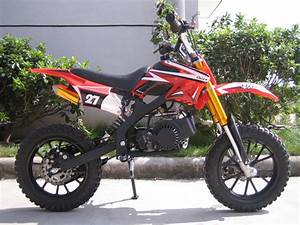 Kxd01 50cc Mini Dirt Bike With Full Suspension   In Stock
