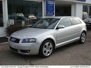 Audi A3 D Occasion : audi a3 2l tdi 140cv ambition luxe 2004 occasion auto audi a3 ~ Gottalentnigeria.com Avis de Voitures