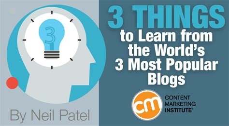 best blogs 3 things to learn from the world s 3 most popular blogs