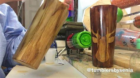 knots  woodgrain effect tumbler youtube