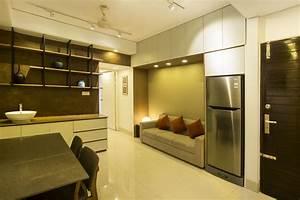 Studio Apartment Interior Design | Zero Inch Interior's Ltd