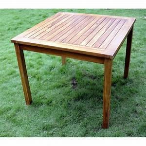 Table En Teck Jardin : ensemble en teck petit prix salon table 4 chaises ~ Dailycaller-alerts.com Idées de Décoration