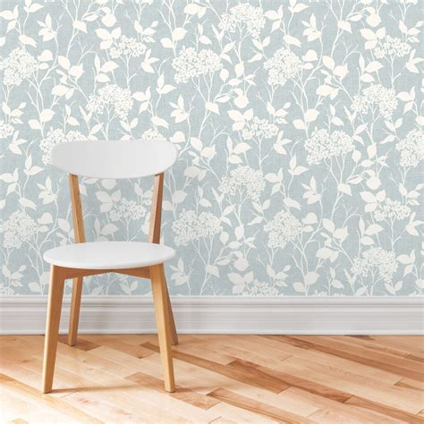 Blue Glenmara Mica Highlight Wallpaper   Departments   DIY