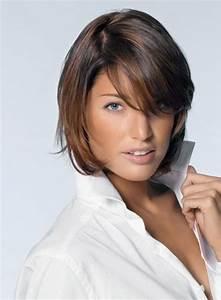 Coiffure Femme Mi Long : coiffure cheveux mi long avec frange ~ Melissatoandfro.com Idées de Décoration
