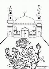 Coloring Mosque Islamic Pages Ramadan Sheets Printable Eid Raskraski Bunch Crafts Colouring Muslim Mosques Sheet Drawing Few Adult Studies Rose1 sketch template