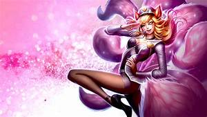 Pop Star Ahri by EpicRandomPeep on DeviantArt