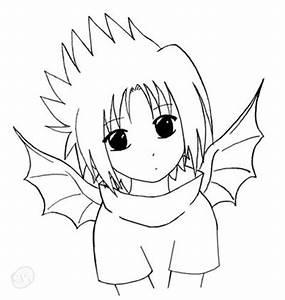 Naruto- Chibi SasuBAT by ECK on DeviantArt