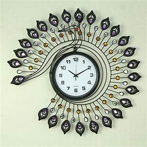 Wall Clock: Shown Beautiful Homes with Decorative Wall