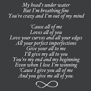 All Of Me Lyric Quotes QuotesGram