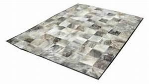 peau de vache junon patchwork grise With tapis peau de vache avec canapé modulable hay