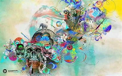 Abstract Wallpapers Artistic Colorful History