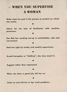 This Guide From The 1940s Told Male Bosses How To Deal