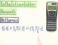 Einstandspreis Berechnen : kalkulationsfaktor berechnen tracking support ~ Themetempest.com Abrechnung