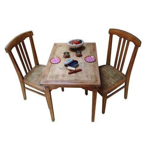 table cuisine largeur ensemble table et chaises enfant rétro boutique