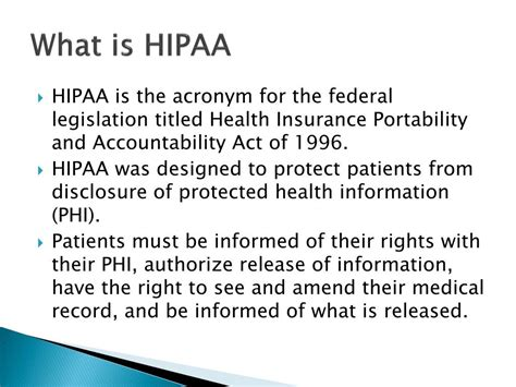 We have licensed agents to help you with all your personal and business insurance needs. PPT - Security of eHealth Information HIPAA Compliance at ...