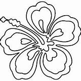 Lei Hawaiian Drawing Coloring Pages Necklace Clipartmag sketch template