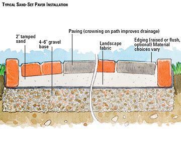 patio how to lay a paver patio home interior design
